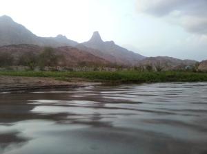 منظر وادي العرج من قرى الفرضه